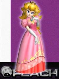 Princess Peach in Super Smash Bros. Melee.