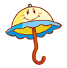 Brawl Sticker Perry (Super Princess Peach).png