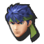 Ike's stock icon in Super Smash Bros. for Wii U.