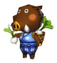 Brawl Sticker Joan (Animal Crossing WW).png