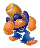 Brawl Sticker Bonkers (Kirby Squeak Squad).png