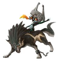 Brawl Sticker Midna & Wolf Link (Zelda Twilight Princess).png