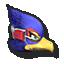 Falco's stock icon in Super Smash Bros. for Wii U.