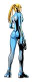 Brawl Sticker Zero Suit Samus (Metroid Zero Mission).png