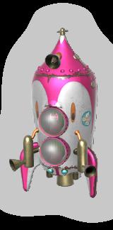 Official artwork of a Hocotate Bomb from the SSBU website.
