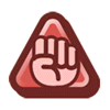 Brawl Sticker Mega Rush Badge (Paper Mario TTYD).png