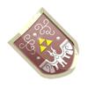 Brawl Sticker Hylian Shield (Zelda Minish Cap).png