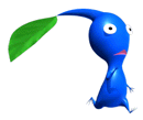 Brawl Sticker Blue Pikmin (Pikmin).png