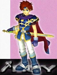 Roy in Super Smash Bros. Melee.