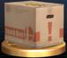 Cardboard Box trophy from Super Smash Bros. Brawl.