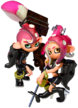 Octoling girl and boy