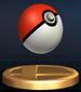 Poke Ball - Brawl Trophy.png