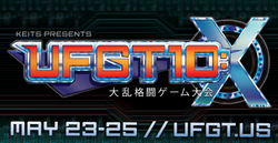Ultimate Fighting Game Tournament 10 logo.