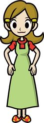 5-Volt as she appears in Game & Wario.