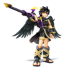 Dark Pit as he appears in Super Smash Bros. 4.