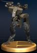 Gekko trophy from Super Smash Bros. Brawl.