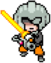 Edited Masked Man battle sprite from Mother 3