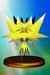 Zapdos trophy from Super Smash Bros. Melee.