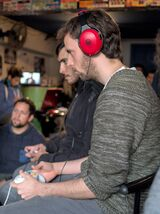 Chilean player Gino on Road to Astra #2 tournament, held in Santiago Chile in 2016.