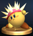 Needle Kirby - Brawl Trophy.png