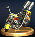 Wario Bike - Brawl Trophy.png
