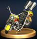 Wario Bike - Brawl Trophy.png