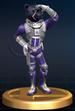 Panther Caroso trophy from Super Smash Bros. Brawl.