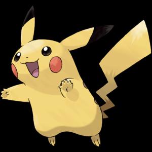 Pikachu as it appears in Pokémon FireRed LeafGreen.