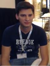 Banze during his set against Greginator at Apex 2014.