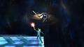 Zero Suit Samus Plasma Wire Meteor Smash Brawl.png