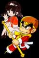 SSBU spirit Goku & Chao.png