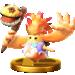 Riki's Trophy in Super Smash Bros. for Wii U