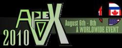 Apex 2010 logo.