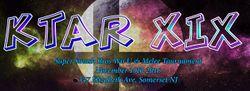 Banner for the KTAR XIX tournament.