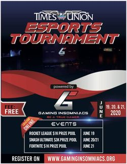 Banner for Times Union Esports Tournament