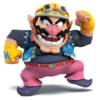 Wario as he appears in Super Smash Bros. 4.