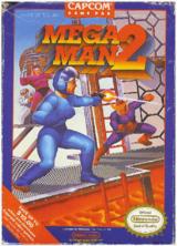 North American box art of Mega Man 2.