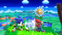 Mario's Fireball colliding with Sonic's neutral attack in SSB4 for Wii U. Picture of the day of Oct. 24, 2013.