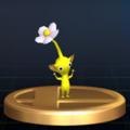 Yellow Pikmin - Brawl Trophy.png