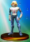 Sheik trophy from Super Smash Bros. Melee.