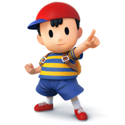 Ness as he appears in Super Smash Bros. 4.