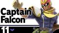 SSBU Captain Falcon Number.png