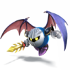 Meta Knight as he appears in Super Smash Bros. 4.