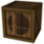 Model of classic Crate from Brawl. Viewed in brresviwer because it was easy to make all crate images look the same; if another rendering method can make it brighter while still keeping the same pose for all images, it might be preferred.