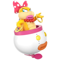 Wendy as she appears in Super Smash Bros. 4.