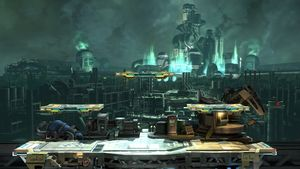 Midgar in Super Smash Bros. for Wii U.