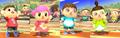 SSB4-WiiU - Villager Matching Costumes.png