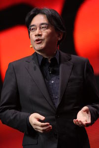 Satoru Iwata at Game Developers Conference