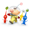 Olimar as he appears in Super Smash Bros. 4.