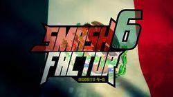 Logo for the Smash Factor 5 tournament.